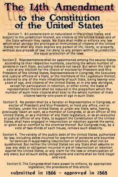 14th Amendment To The U S Cons Ution Republican Presidential Candidates Want To Repeal The 14th Amendment
