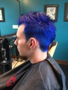 Men's hair by Ritchie Laurence @ Voodoo Hair Lounge #boulderco
