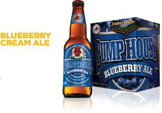 I love this beer! Canadian Beer, Pump House, Craft Beer, Brewery, Beer Bottle, Blueberry, Ale, Drinks, Canada