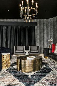 Bar interior design can give you the finest lighting inspiration. #modernchandeliersblog #lifestylebyluxxu #luxxumoderndesignliving #luxurydecoration #luxury #bar #designideas #bardesign #lighting #interiordesign Luxury Bar, Luxury Decor, Bar Interior Design, Modern Chandelier, Dining, Lighting, Inspiration, Home, Style