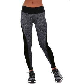 1 Pcs 2016 Women's Long Leggings Two-Sided Fitness High Waist Elastic Women Leggings Workout Leggings Leggings Pants 1PC BN051