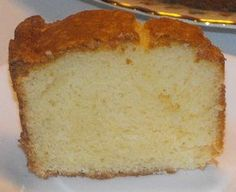 Sour Cream Pound Cake--Made From a Mix-Can be cooked in 2 loaf pans for gift giving. Sour Cream Pound Cake--Made From a Mix-Can be cooked in 2 loaf pans for gift giving. Cake Mix Desserts, Cake Mix Recipes, Pound Cake Recipes, Easy Desserts, Delicious Desserts, Dessert Recipes, Cake Mixes, Yummy Recipes, Dessert