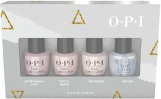 Shine Bright Holiday Sheers 4 Piece Mini Pack Sheer Shades, Neutral Nails, Bareminerals, Opi, Bath And Body, Fragrance, Skin Care, Cosmetics, Makeup