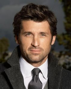 Patrick Dempsey, aka...McDreamy :) going to be denny in the art of racing in the rain! aahhhhhhhh
