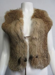 Adorable fur vest will enhance any outfit! genuine rabbit fur. Each item is inspected for authenticity and approved by our authentication experts. We accept gently worn designer clothing and accessories for men, women and even children as well as luxury goods. | eBay!