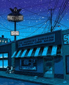 The Simpsons — Illustrations Of Springfield As A Desolated Town