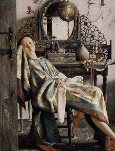 "clisawork: "" Painting by Lu Jian Jun """