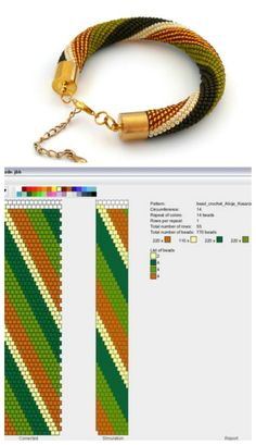 Excellent video tutorial for making bead crochet rope jewelry russian language but very clear technique also many variations of ropes with pictures and the bead sequence shown – Artofit Beaded Jewelry Designs, Seed Bead Jewelry, Bead Jewellery, Bead Earrings, Seed Beads, Rope Jewelry, Bead Crochet Patterns, Bead Crochet Rope, Beading Patterns