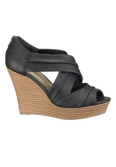 Rosa Peep toe Wedge Maurices $34 size 9