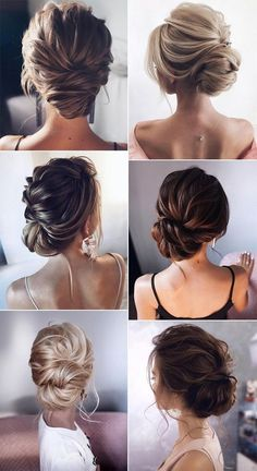 26 Gorgeous Updo Wedding Hairstyles from tonyastylist - Page 2 of 2 , . - 26 Gorgeous Updo Wedding Hairstyles from tonyastylist – Page 2 of 2 Check more at beauty. Bridal Hair Updo, Wedding Hair And Makeup, Hair Makeup, Chignon Updo Wedding, Low Bun Wedding Hair, Wedding Hairstyle Short Hair, Bridal Makeup, Brunette Wedding Hairstyles, Elegant Wedding Hairstyles
