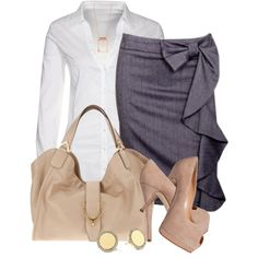 Dress nude heels Nude Heels~ Love the skirt and bag! so profesh Office Fashion, Work Fashion, Fashion Beauty, Womens Fashion, Hot Wheels, Nude Heels, Cute Skirts, Business Outfits, Swagg