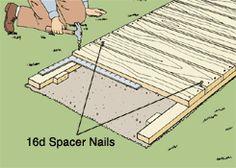 Build your own boardwalk!
