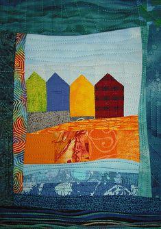 ❤ =^..^= ❤    Beach Huts | Linda Bilsborrow
