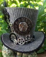 Mini Top Hat - Steampunk Clock Gears by ~MiniTopHat on deviantART