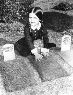 "vintagegal: "" Lisa Loring as Wednesday Addams for the Addams Family TV show c. 1960s """
