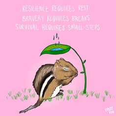 Resilience requires rest, bravery requires breaks, and survival requires small steps Mental Illness Awareness Week, Aids Awareness, Mental Health Disorders, Stress Disorders, Depression Awareness, World Health Day, Bullying Prevention, Spiritual Wellness
