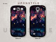 Samsung Galaxy S4 case, Galaxy S3 case, Tangled Disney, Phone Cases, Phone Covers, Skins, Case for Samsung, Case No-49