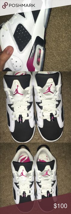 RETRO JORDAN 6 SIZE 7Y Size 7 Air Jordan Shoes Sneakers