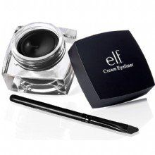 Like MAC fluidline? try E.L.F creamliner at a fraction of the cost ($3)!   OK, i gotta say, this is by far one of e.l.f.'s BEST products i've used (and it's been a couple weeks now), esp for the price of a wopping $3!!! woo! If you don't have THIS e.l.f. Cream Eyeliner, you have to at least give it a try because it wears LONG and is just as comparable (actually better in my opinion) to MAC's fluidline gel (which costs 5x the price) that i had used for a long time before elf's... it goes on…
