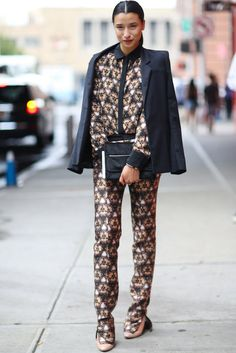Fashion Week Street Style Photo 1
