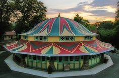 1923 Dentzel Carousel. Glen Echo Park, Maryland