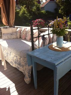 summer <3 Summer 3, Outdoor Furniture Sets, Outdoor Decor, Bench, Home Decor, Decoration Home, Room Decor, Benches, Interior Design
