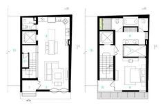 Analizaremos una pequeña casa construida en un terreno de solo 68 m², tiene tres dormitorios y se basa en la idea de construir verticalmente de acuerdo al crecimiento familiar, te sorprenderá descu…