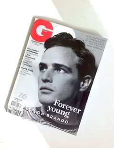 GQ Italia, April 2015 - Marlon Brando - See more: www.condenastinternational.com/shop www.instagram.com/condenastworldwidenews email: cnwwn@condenast.co.uk for enquiries