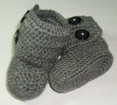 Free Baby Booties Crochet Pattern