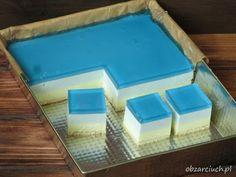 Polish Recipes, Homemade Cakes, Custard, Ice Cube Trays, Fudge, Baking Recipes, Ale, Smoothie, Cheesecake