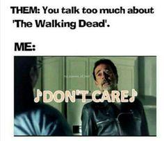 The Walking Dead #thewalkingdead 'sing ur life' Negan #twd IDGAF