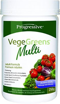 VegeGreens Multi Formula  250g by Prgressive *** Read more at the affiliate link Amazon.com on image.