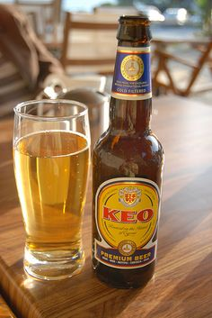Keo - beer from Cyprus