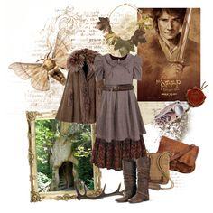 """the hobbit (-girl)"" by whitekirin on Polyvore"