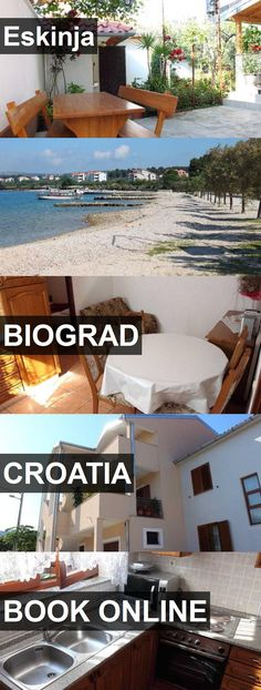 Hotel Eskinja in Biograd, Croatia. For more information, photos, reviews and best prices please follow the link. #Croatia #Biograd #travel #vacation #hotel
