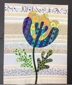 Flower Garden, Kim McLean - Block 9 (Laila Nelson)