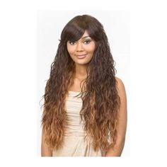 Diana Synthetic Pure Natural Wig - Tobi