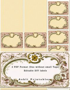 Printable Soap Labels and Tags by AshliPrintables on Etsy, $7.50