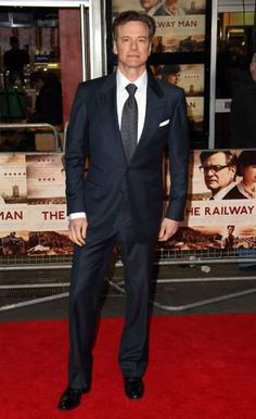#ColinFirth is seen at the UK Premiere of 'The Railway Man' at #Odeon West End on December 4, 2013 in London (Getty Images) http://celebhotspots.com/hotspot/?hotspotid=27182&next=1