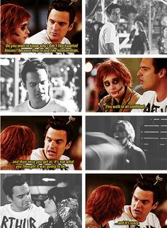 Nick Miller and Jess Day from New Girl. possibly the most hilarious episode.