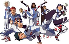 GAH! Galactik football!! Watched and loved it when I was 11. Love it just as much 10 years later!