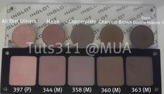 Inglot Neutral Palette