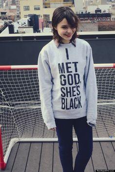 Meet the atheist Jewish girl behind 'I met god, she's black '.
