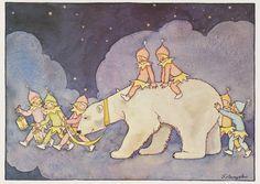 Freddie Langeler was a female, Dutch illustrator, born in 1900. She was self taught. Her real name was Johanna Frederika Langeler. She mainly illustrated comic books, along with her husband, comics artist E M ten Harmsem van der Beek. Sadly, she died in 1948.