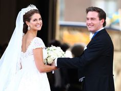 Princess Madeleine of Sweden's wedding to British businessman, Chris O'Neil, 8 June 2013