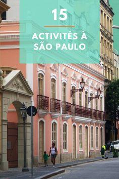 Que faire à Sao Paulo au Brésil? Julien présente 15 attraits à voir pour bien profiter de Sao Paulo, avec ses recommandations de restos et d'hôtels, des conseils et le budget à prévoir!