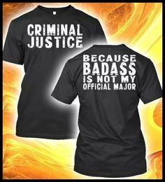 Criminal Justice fun college majors