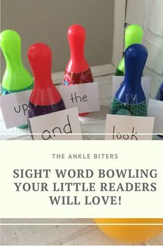 This sight word bowl