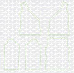 Materialien: * Jersey (Breite 150cm)  - 140 cm ( Größe 34 )  - 140 cm ( Größe 36 )  - 145 cm ( Größe 38 )  - 145 ...