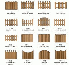 dogear fence - Google Search